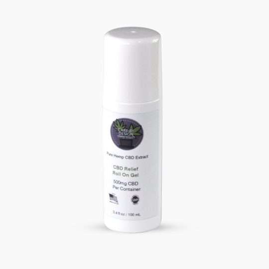 stick of cbd roll on gel topical