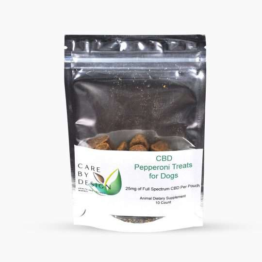 Bag of CBD Pepperoni Cat and Dog Treats - 10 count
